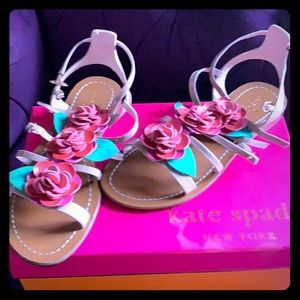 Kate Spade rose sandals